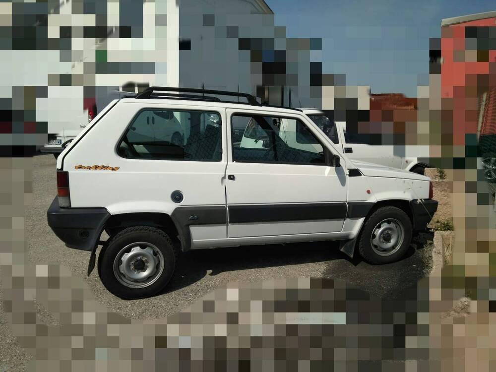 Fiat Panda 1100 i.e. cat 4x4 Trekking del 1999 usata a Monte Colombo (5)