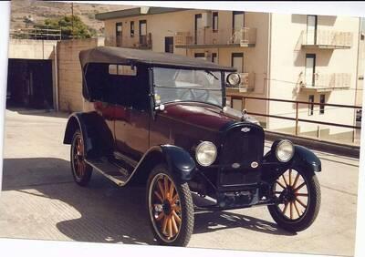 Touring d'epoca del 1924 a Caccamo