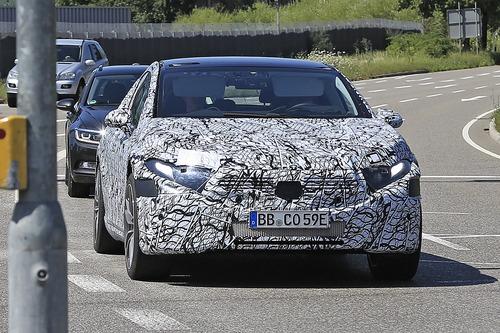 Mercedes EQS, le foto spia  (2)