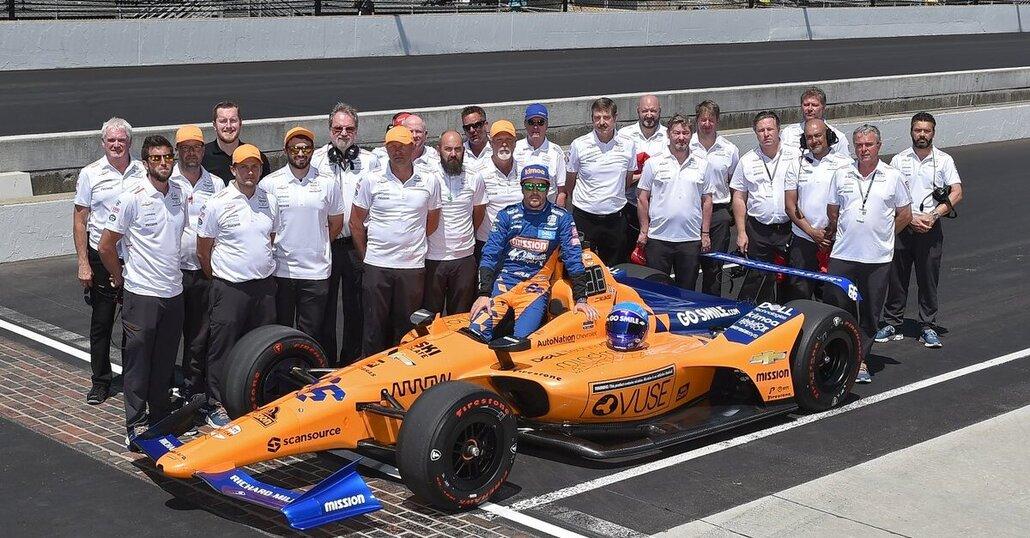 IndyCar 2020: McLaren pronta per la stagione intera ma Alonso no. Tiene più alla 500 Miglia o a F1 (Ferrari) e Dakar?