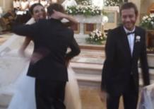 Valentino Rossi testimone al matrimonio di Uccio