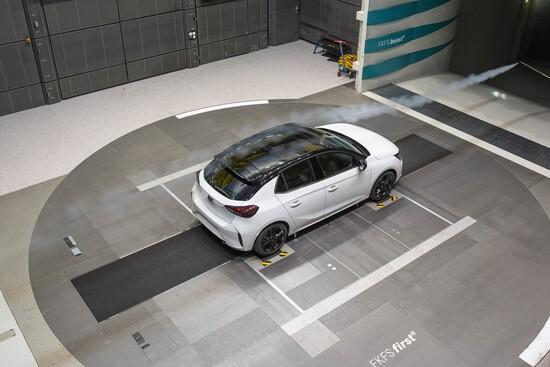 Il coefficienti di resistenza aerodinamica della nuova Opel Corsa è di 0,29