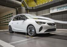 Opel Corsa: aerodinamica attiva per ridurre i consumi