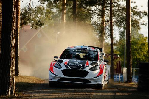 WRC 2019 Finlandia. Tutto in 2 secondi. Latvala-Meeke, Toyota, Tanak dietro a Lappi (3)