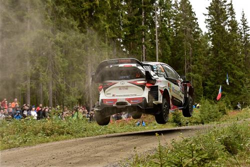 WRC 2019 Finlandia. È Tanak IV, Toyota Yaris WRC (8)