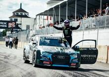 WRX 2019. Canada 3-Rivieres. Il RallyCross del Canada è di Andreas Bakkerud (Audi)