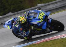 MotoGP Austria: Mir infortunato, non prende il via