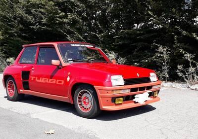 Renault 5 turbo 1 d'epoca del 1981 a San Cesario sul Panaro