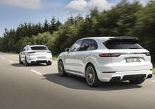 Porsche Cayenne plug-in Hybrid: e-Hybrid e Turbo S e-Hybrid, anche per la Coupé
