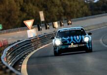 Porsche Taycan promossa ai test di durata a Nardò: 3.425 km in 24 ore