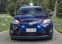Due Toyota Yaris ibride per i Carabinieri di Pistoia