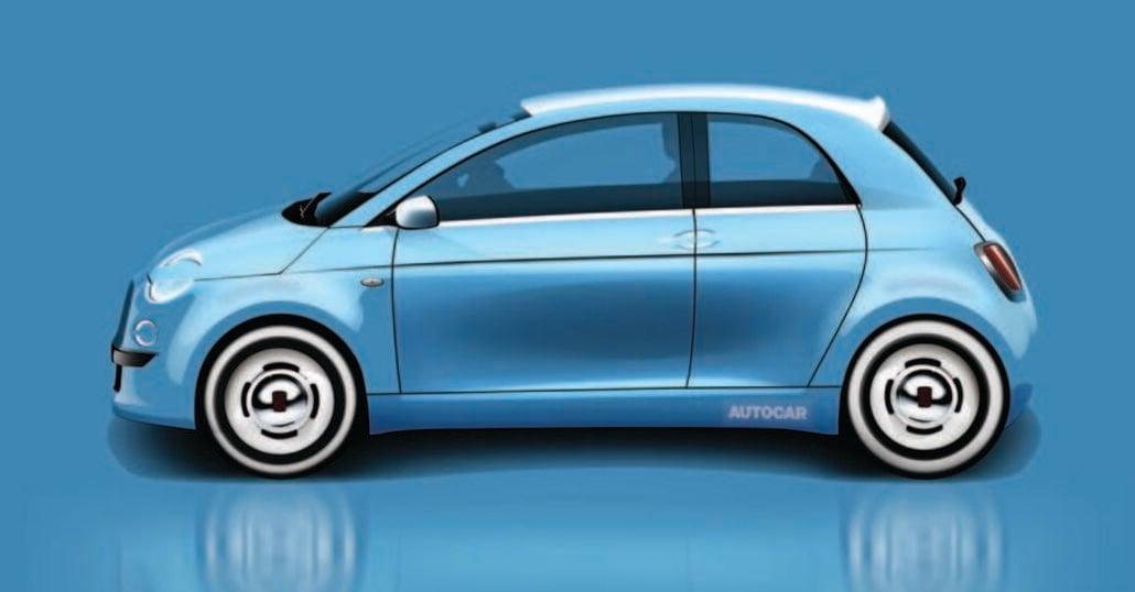 Fiat 500 elettrica: avrà 4 porte, ma ad armadio