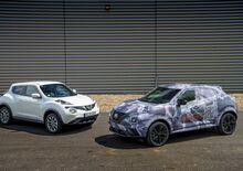 Nuova Nissan Juke 2020, ecco le prime immagini