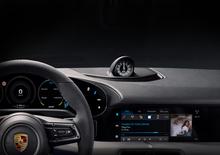 Porsche Taycan: la prima foto degli interni dell'elettrica