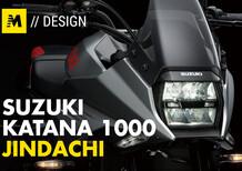 Suzuki Katana 1000: la penna e la spada