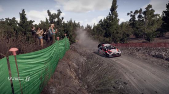 La grafica di WRC 8 migliora rispetto al predecessore ma rimane due step indietro rispetto alla concorrenza