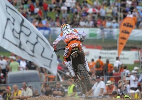 Cairoli: Si comincia ad entrare nella storia del Motocross