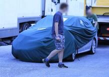 Skoda Octavia RS: crash durante i test [Foto spia]