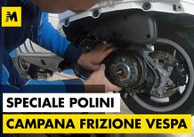 Polini. Come migliorare la frizione della Vespa GTS300. Puntata 4.