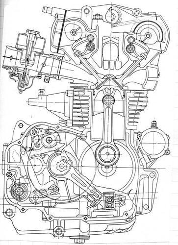 Honda CB 450. Richiamo valvole barra di torsione