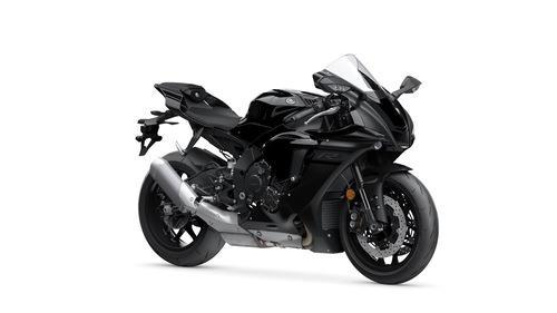 La Yamaha YZF-R1 in colorazione Tech Black SMX/MBL2