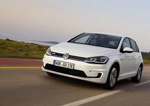 Volkswagen e-Golf al Salone di Francoforte 2019