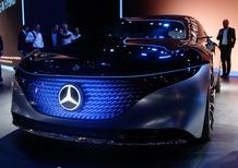 Mercedes Vision EQS, debutto al Salone di Francoforte 2019 [Video]