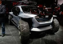 Audi AI:TRAIL quattro al Salone di Francoforte 2019
