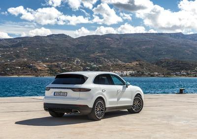 Panamera Car Design TP Portachiavi in Pelle Auto di Porsche per 911 Cayenne Nero