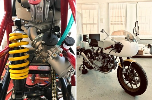Walt Siegl Bedeveled: special da pista con motore carter quadri Ducati 900 SS (4)