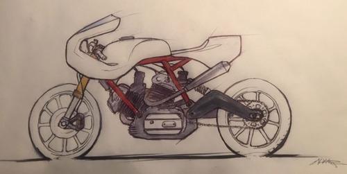 Walt Siegl Bedeveled: special da pista con motore carter quadri Ducati 900 SS (2)