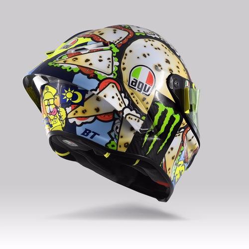 Valentino Rossi: un casco per... mangiarsi Misano (8)