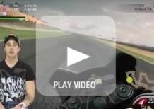 GP di Aragòn. In pista con Andrea Dovizioso