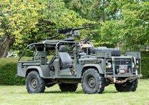 Land Rover Defender 110 V8 SOV: l'anti Humvee all'asta