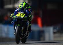 MotoGP 2019 ad Aragon. Valentino Rossi: Un buon miglioramento, dopo FP1 difficilissime
