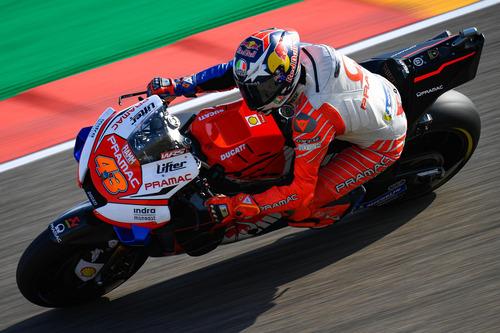 MotoGP 2019. Marc Marquez, pole con brivido ad Aragon (4)