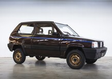 Panda 4X4 Icon-e: integrale elettrica (Fiat) by Garage Italia [video]
