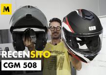 CGM 508. Ecco un casco modulare in ABS a 113,46 euro. Ha anche la doppia omologazione