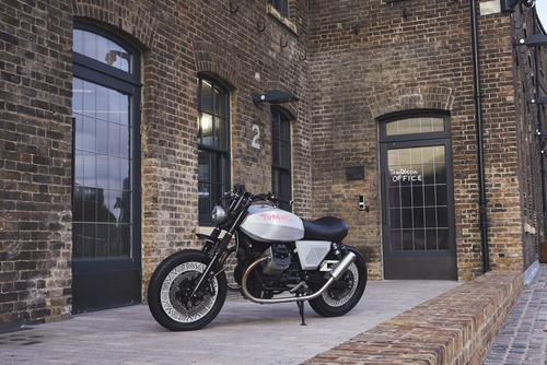 Moto Guzzi V7 Tomoto al London Design Festival  (3)