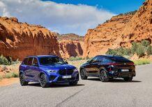 """Nuove BMW X5 M ed X6 M. Per gli incontentabili anche in versione """"Competition"""""""