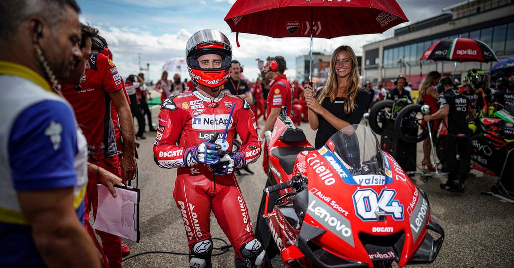 """MotoGP. Dovizioso: """"Rossi ci prova sempre, fino alla fine"""""""
