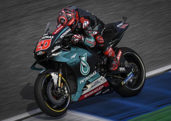 MotoGP 2019. Fabio Quartararo primo nelle FP2 in Thailandia