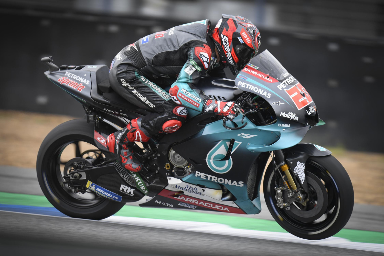 MotoGP 2019 in Thailandia. Fabio Quartararo in pole position