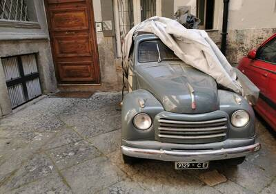 500/C Belvedere  d'epoca del 1954 a Napoli