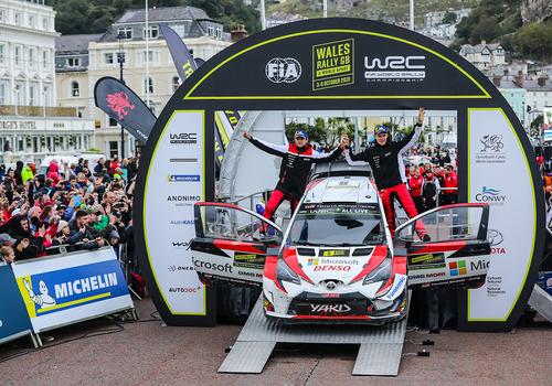 WRC 2019 Galles. Ott Tanak e Toyota Spietati! (6)