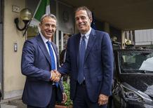 Toyota: due ibride per Sergio Costa