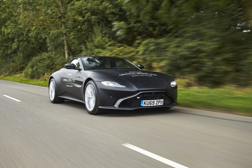 Aston Martin Vantage Roadster 2020: ecco come sarà (3)