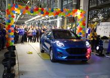 Ford Puma: sfornata la prima unità in Romania