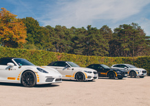Confronto: Porsche 718 Vs Ford Mustang Vs BMW M240i (e Jaguar I-Pace) [video]