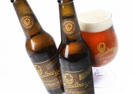 Headbanger Old School Ale Primitive Bikers Beer